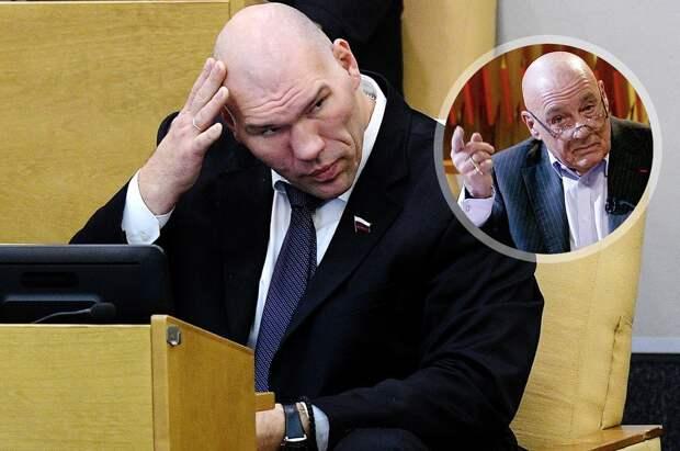 Познер— оВалуеве вГосдуме: «Меня это неустраивает. Нехочу сказать ничего плохого, хотя боксер онбыл никакой»