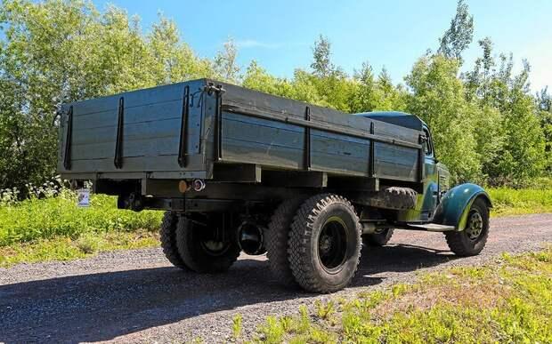 Заслуженный грузовик Советского Союза