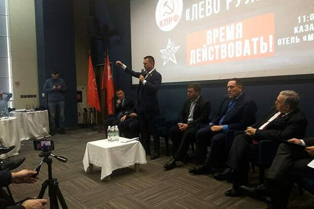Руководитель СПУ «Звениговский» Казанков с Бондаренко, Шевченко и др. посетил форум «Лево руля» в Татарстане