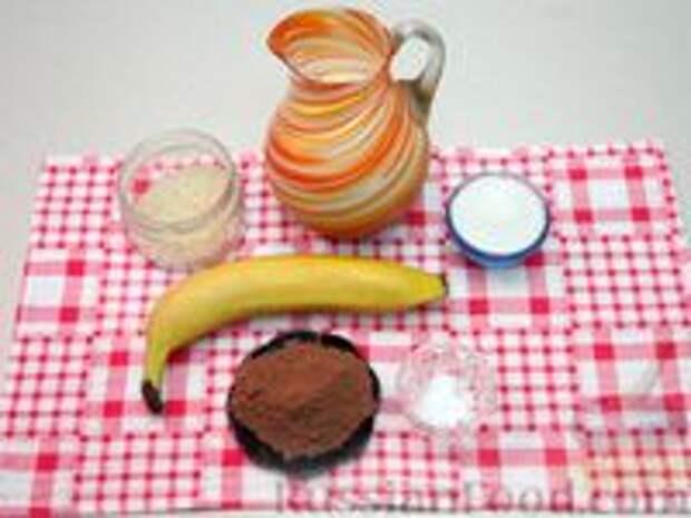Фото приготовления рецепта: Шоколадная рисовая каша на молоке - шаг №1