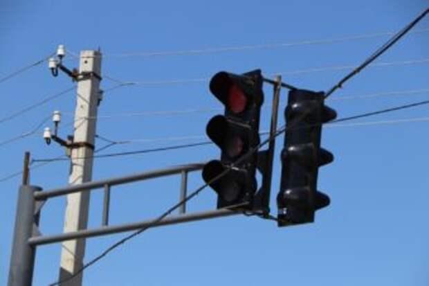 Светофоры нового типа ставят в Кентау