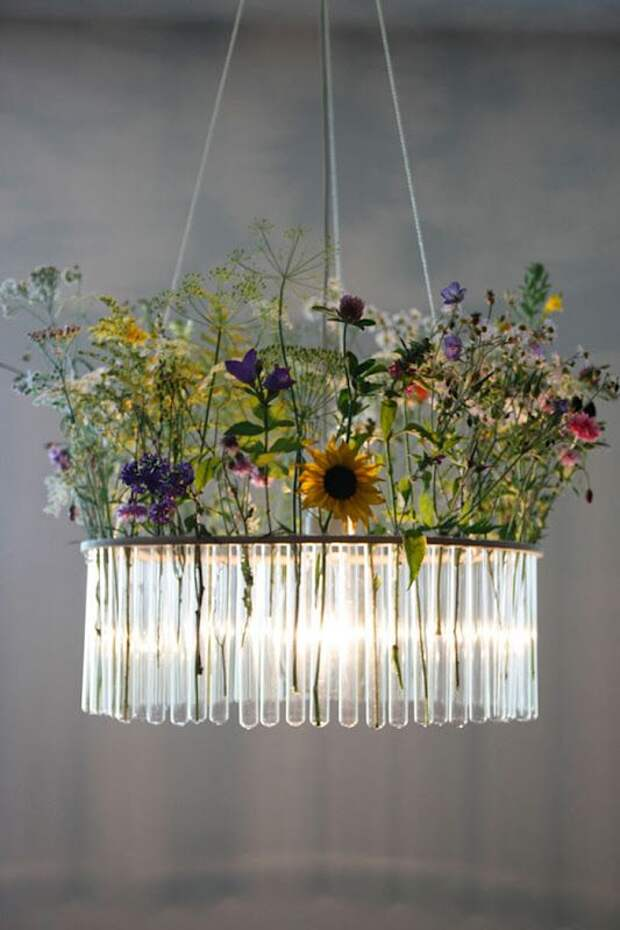 Идеи оригинальных светильников, которые вы сможете сделать своими руками