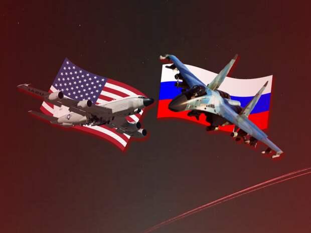 """Россия перехватила самолет США, не позволив пересечь границы. В США сообщили о """"недопустимо жестких действиях"""" авиации России"""