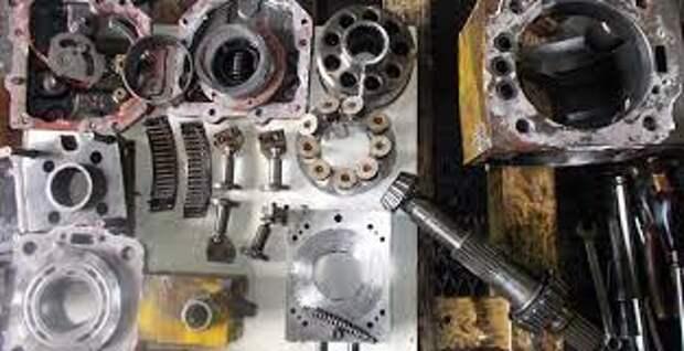 Ремонт гидронасосов и гидромоторов перегружателей