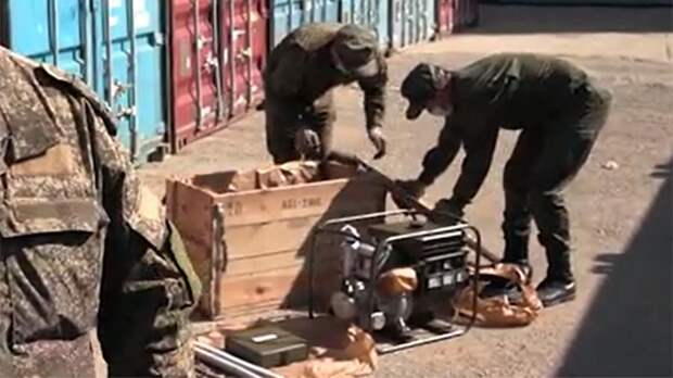 Российские военные передадут сирийским школам и поликлиникам 84 электрогенератора
