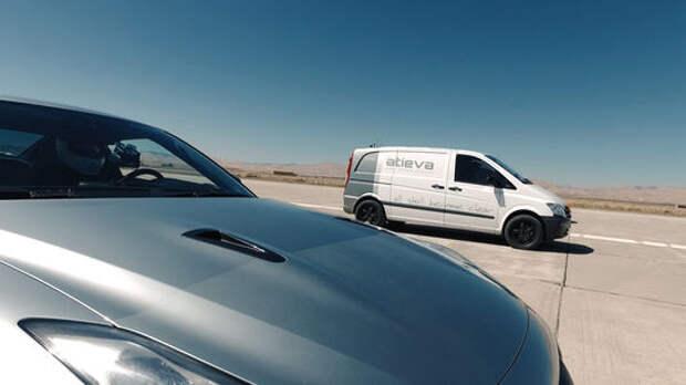 Чистая физкультура: электрический фургон посрамил бензиновые суперкары