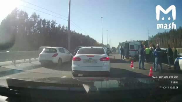 Жена начальника полиции Подольска устроила ДТП с 5 погибшими