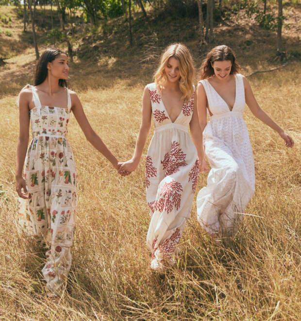 Летние льняные платья из коллекции Agua By Agua Bendita 2020