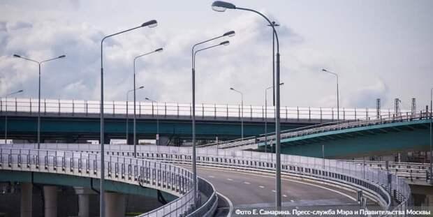 Собянин: СВХ - один из крупнейших дорожных проектов Москвы за всю ее историю. Фото: Е. Самарин mos.ru