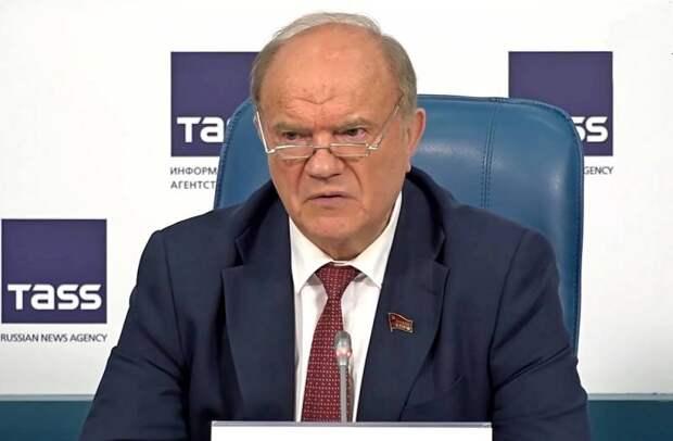 «Те, кто сворует голоса, сядут неизбежно»: Зюганов анонсировал массовые протесты после выборов