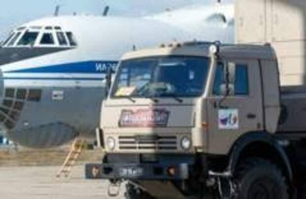Российские военные начали борьбу с коронавирусом в Брешии