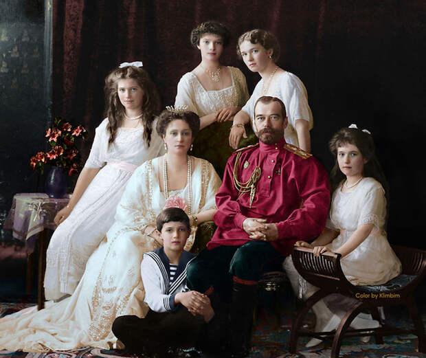 Колоризированные фотографии исторических личностей России в исполнении Ольги Ширниной