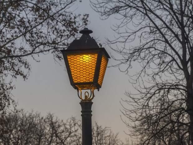 Более 60 новых фонарей появится в Беговом