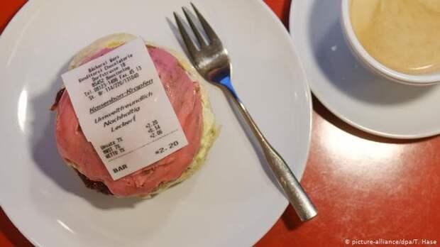Немцы теперь едят чеки за покупку