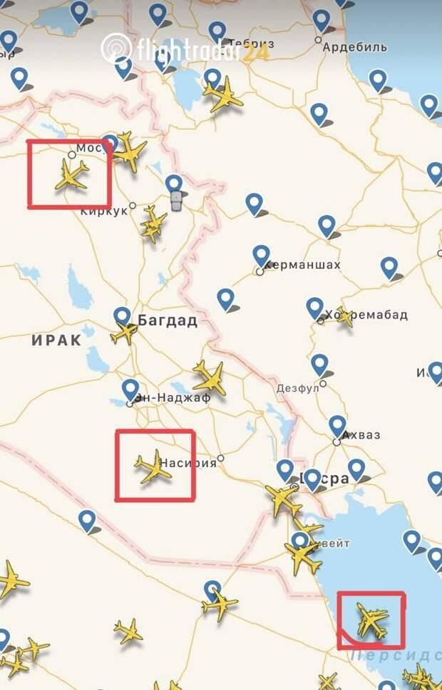 США направили к Ирану специальный самолет, который может говорить о скором нападении на страну