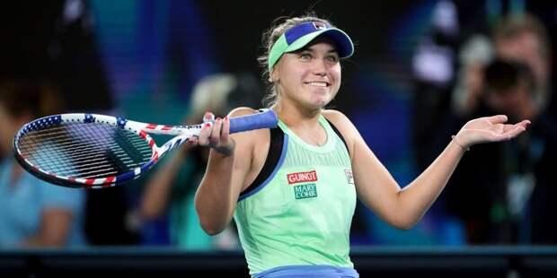 Кенин поднялась на седьмое место в рейтинге WTA