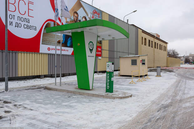 Электромобиль в Сибири