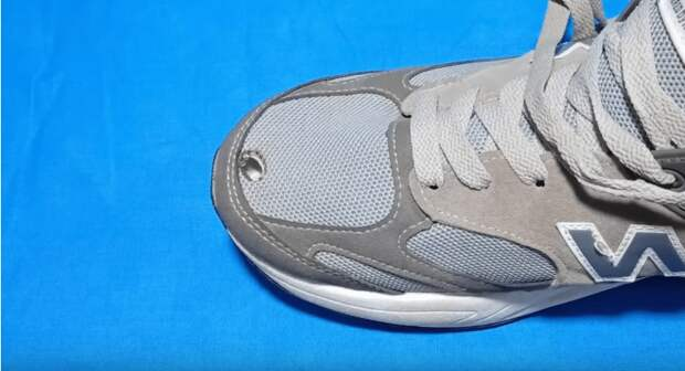 Отличный способ отремонтировать обувь