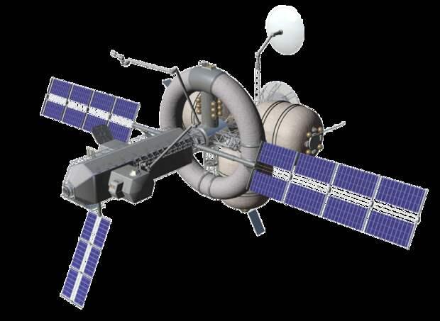 Проект кольцевого модуля, создающего искусственный аналог гравитации существовал и для МКС. Но в силу небольших размеров создать приличный аналог силы тяжести такой модуль не мог / ©Wikimedia Commons