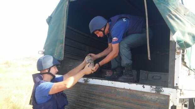 В Крыму обезвредили 44 бомбы времён ВОВ