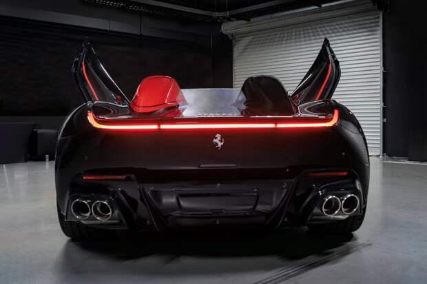 Шикарный Ferrari Monza SP2 выставили на продажу