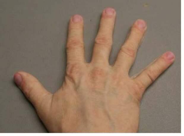 Силиконовая перчатка, имитирующая руку