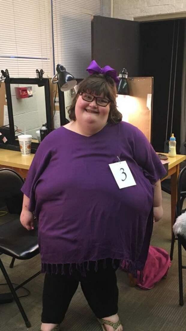 172-килограммовая девушка стала королевой красоты в Миссисипи ynews, дети -инвалиды, конкурс красоты, синдром Прадера — Вилли, соревнования, состязания