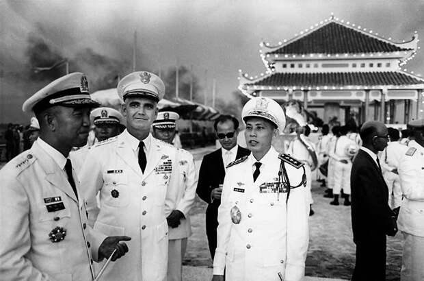 Исторические снимки Вьетнамской войны.