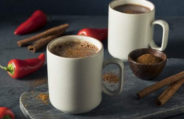 какао с перцем чили