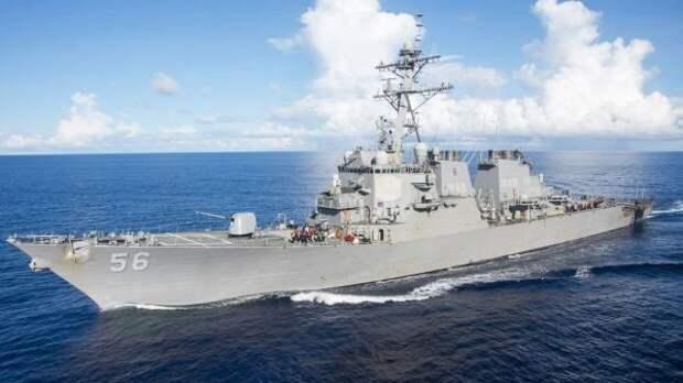 Китай заявил протест США всвязи самериканским эсминцем вТайваньском проливе