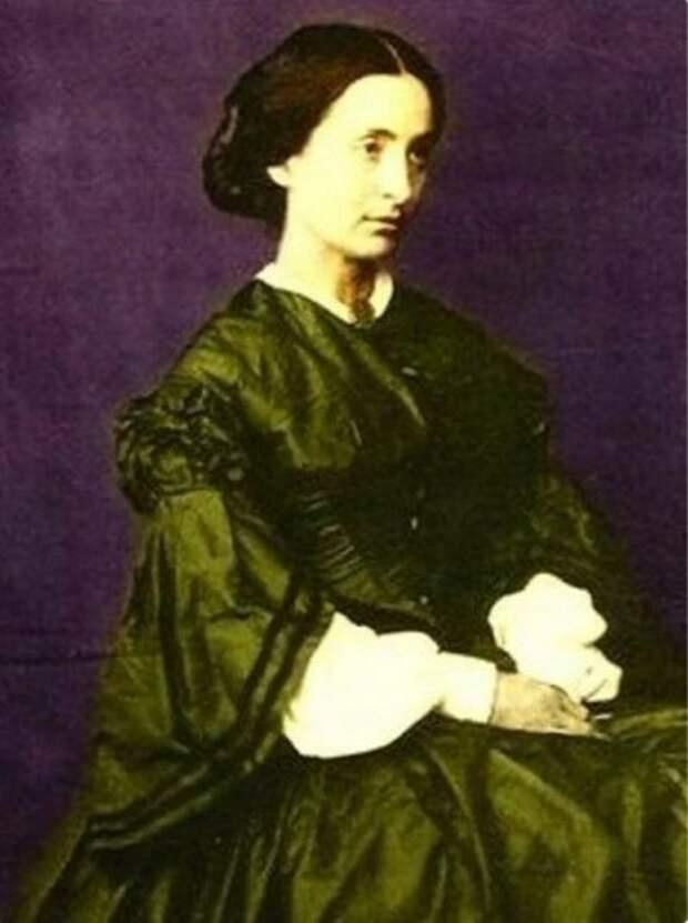 Фото: kulturologia.ru портрет Адели Гюго - младшей дочери писателя Виктора Гюго