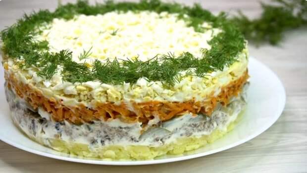Рецепт простого, но вкуснейшего салата со шпротами, от которого все мои гости в восторге