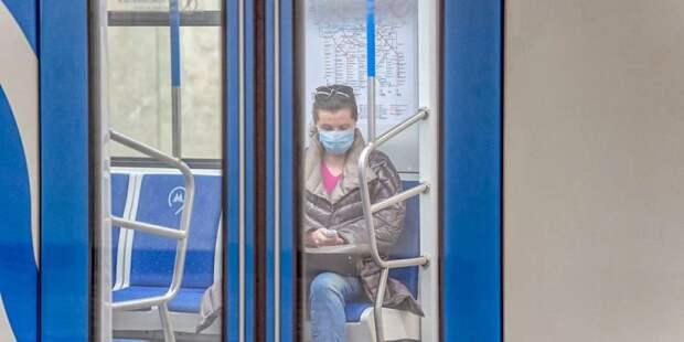 Депутат МГД объяснила необходимость введения масочного режима в Москве/ Фото mos.ru
