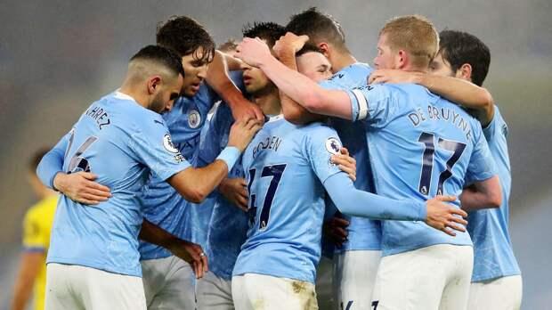 «Манчестер Сити» обыграл «Астон Виллу» и поднялся на 1-е место в АПЛ