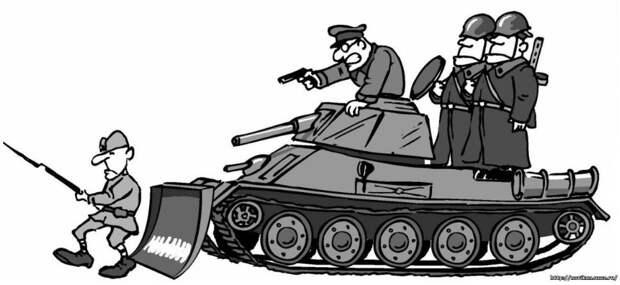 «Заградотряды в РККА. Страшная, страшная сказка