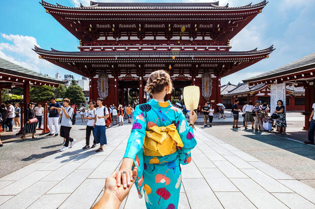 ВЯпонии будут платить туристам, которые приедут встрану