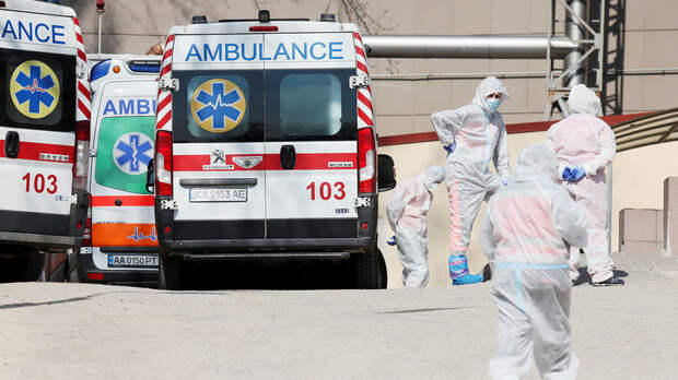 На Украине за сутки выявили более 3500 новых случаев коронавируса