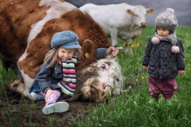 ФОТОВЫСТАВКА. John Wilhelm: неожиданные детские фото