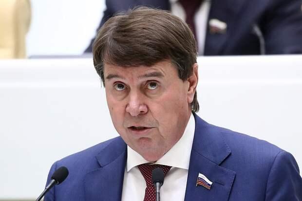 Сенатор Сергей Цеков: Зеленский рассуждениями о Крыме маскирует развал Украины