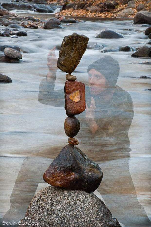 Балансирующие камни отМайкла Граба