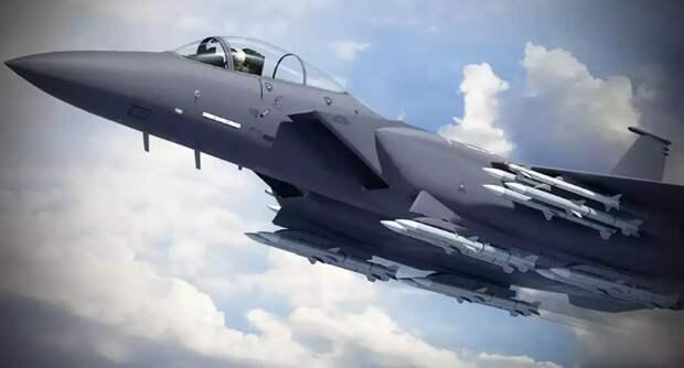 Рендер истребителя F-15X. boeing.com - Американские ВВС купят F-15X | Warspot.ru