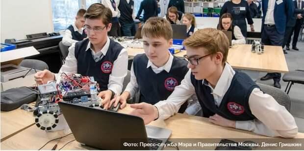 Сергунина: В Москве открыт набор участников на детско-юношеские соревнования по робототехнике