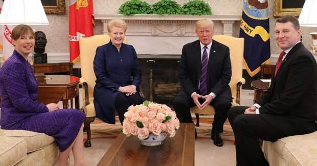 Прибалтика осуждает США (только тихо, чтобы Трамп не услышал)