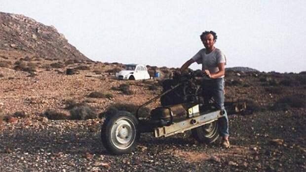 Мотоцикл Эмиля Лере, рукотворное чудо из пустыни