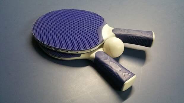 Занятия по настольному теннису проходят на Коптевском бульваре