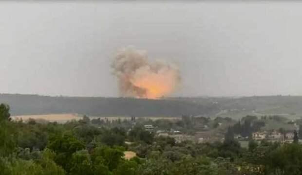 «Чувствительный» объект вцентре Израиля сотряс мощный взрыв