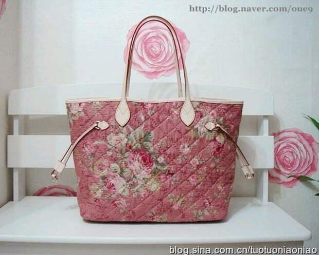 Картинка шьем модную сумку, подробный мк