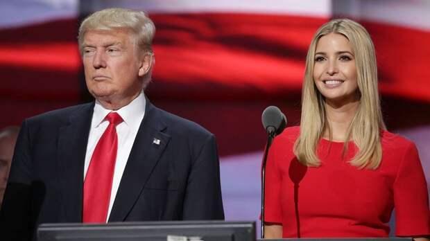 3. Дональд и Иванка Трамп дочки, звезды, отцы, топ