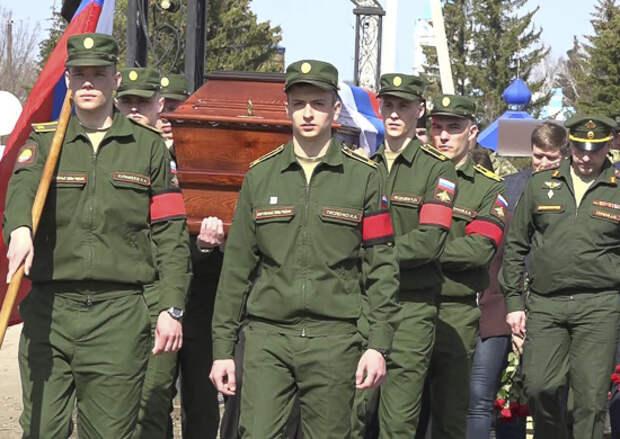 Военнослужащие филиала Военной академии МТО в Пензе приняли участие в перезахоронении останков красноармейца, погибшего в годы Великой Отечественной войны
