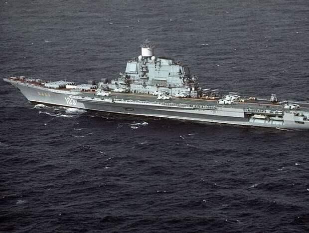 ВПК: На создание российского авианосца потребуется 500млрд рублей